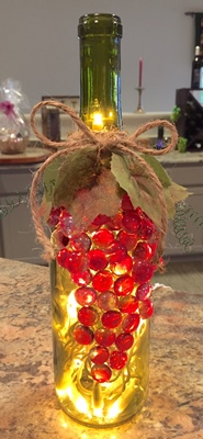 Adagio Art - Wine Bottle Lights March 9th Product Image